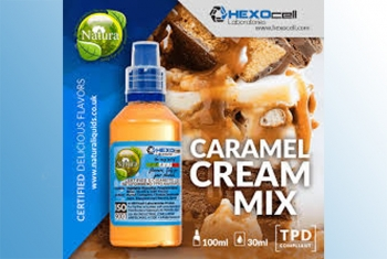 Caramel Cream Mix – Hexocell Shake & Vape 30ml/100ml