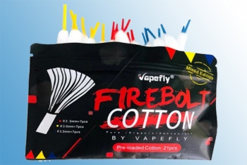 Firebolt Organic Cotton Mixed Watte Vapefly