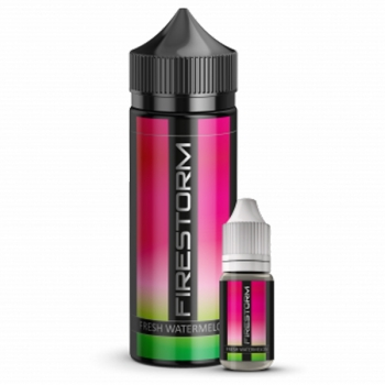 Fresh Watermelon Firestorm Aroma 10ml + 120ml Chubby Liquidflasche