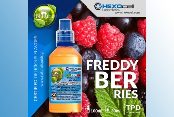 Freddy Berries – Hexocell Shake & Vape 30ml/100ml