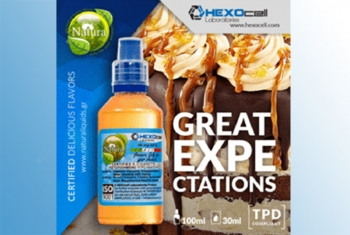 Great Expectations – Hexocell Shake & Vape 30ml/100ml