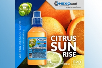 Citrus Sunrise – Hexocell Liquid 30ml