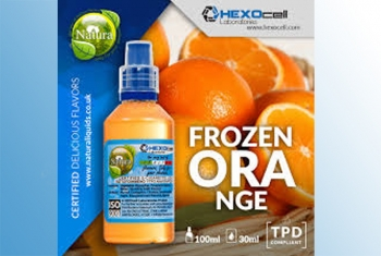 Frozen Orange – Hexocell Liquid 30ml (Orange + Ice)