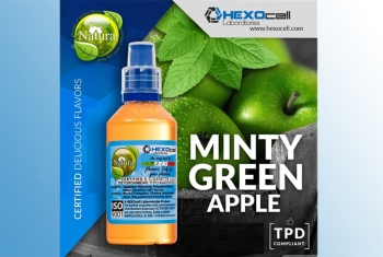 Minty Green Apple – Hexocell Liquid 30ml (grüne Äpfel mit Minze)