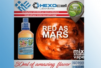 Red as Mars – Hexocell Liquid 30ml (Trauben, roten Beeren, Eukalyptus, Menthol und Anis)
