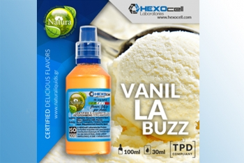 Vanilla Buzz – Hexocell Liquid 30ml