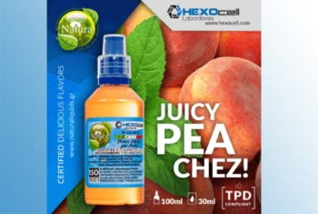 Juicy Peachez – Hexocell Shake & Vape 30ml/100ml