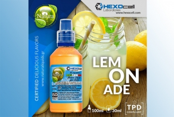 Lemonade – Hexocell Shake & Vape 30ml/100ml