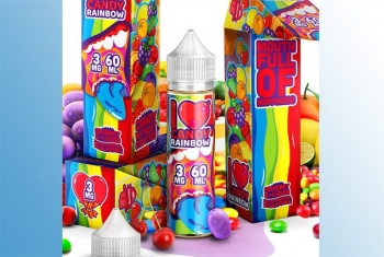 Rainbow - Mad Hatter 60ml Liquid