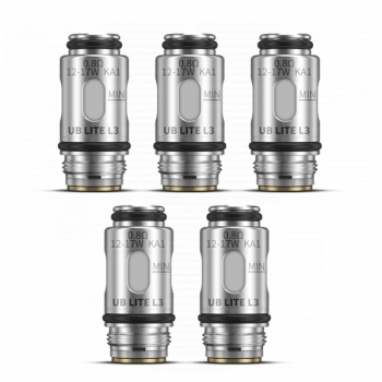 5 x Lost Vape UB Lite L3 0,8 Ohm (1 Packung)