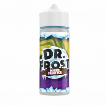 Mixed Fruit Ice Dr. Frost Liquid 120ml (Passionsfrucht, Mango, Beeren + Menthol)