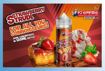 Strawberry Strudl PJ Empire Shake & Vape 30ml / 120ml