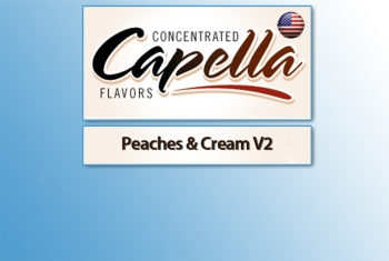 Capella - Peaches & Cream V2 Aroma
