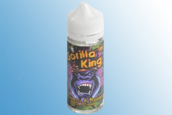 Strawberry & Raspberry in Cream – 120ml Gorilla King Liquid