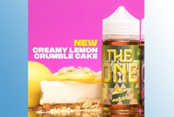 The One Lemon Crumble - 120ml Beard Vape Liquid