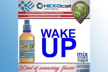 Wake Up! – Hexocell Shake & Vape 30ml/100ml