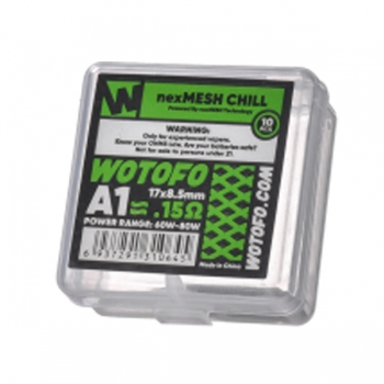 10x Wotofo Nexmesh Coil Chill 0,15 Ohm (1 Packung)