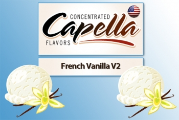 Capella - French Vanilla V2 Aroma (cremiges Vanille)