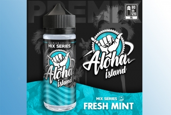 Minty Fresh Aloha Island 120ml Liquid (Minze)