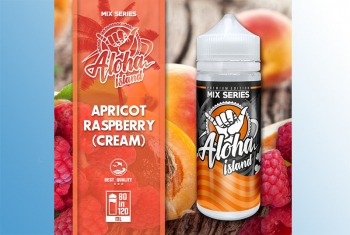 Apricot Raspberry (Cream) Aloha Island 120ml Liquid