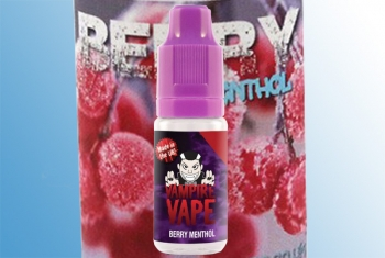 Berry Menthol Vampire Vape Liquid 10ml