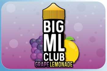 Grape Lemonade Big ML Club 120ml Liquid