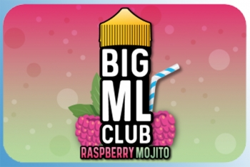 Raspberry Mojito Big ML Club 120ml Liquid