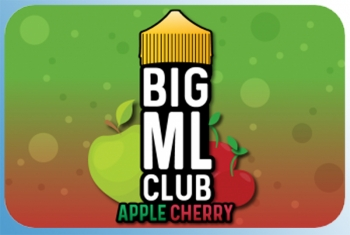 Apple Cherry Big ML Club 120ml Liquid