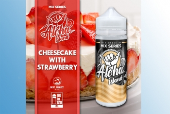 Cheesecake with Strawberry Aloha Island 120ml Liquid