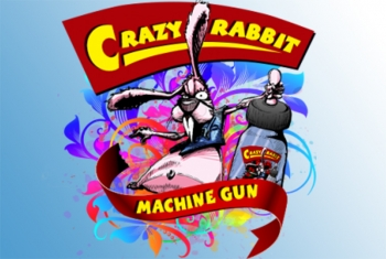 (Fruchtkaugummi & Energy Drink) MACHINE GUN Crazy Rabbit Liquid 30ml