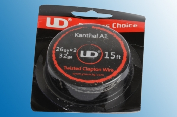 Twisted Clapton Wire 15ft (4,5 Meter) 26GA x 2 + 32GA