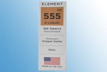 555 Tabak Element USA Liquid 10ml