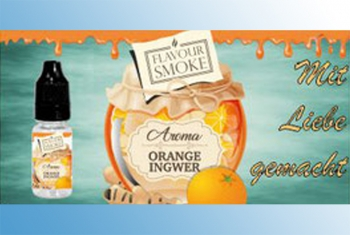 Orange Ingwer Flavour Smoke Aroma 10 ml
