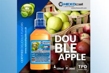 Double Apple – Hexocell Liquid 30ml leckerer Apfelmix