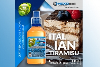 Italian Tiramisu – Hexocell Liquid 30ml