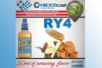 RY4 Tobacco – Hexocell Liquid 30ml (Kokos Schokoriegel)