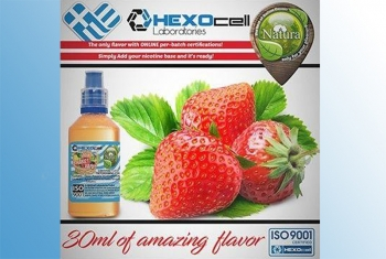 Minty Strawberry – Hexocell Liquid 30ml