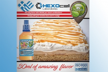 Vanilla Caramel – Hexocell Liquid 30ml