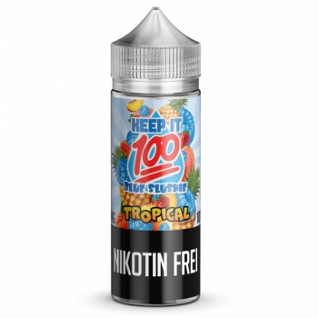 Blue Slushie Tropical Keep it 100 Liquid 120ml