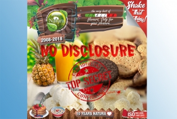 No Disclosure – MSV NATURA  60ml + 40ml VG Liquid