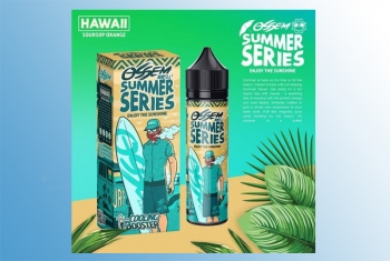 Hawaii Ossem Liquid 60ml + Cooling Booster