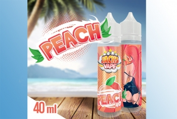 Peach Jacks Vape Liquid 60ml