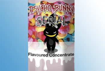 Psycho Bunny Aroma - Serial Mix aus Orange, Kirsche, Zitrone, Limette und Himbeer Fruit-Loops