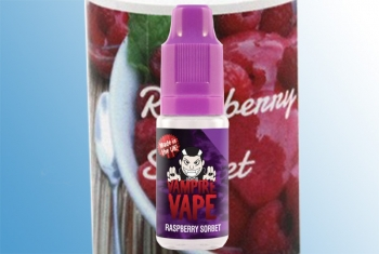 Raspberry Sorbet Vampire Vape Liquid 10ml