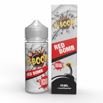 Red Bomb K-BOOM Aroma 10ml + Chubby 120ml Flasche