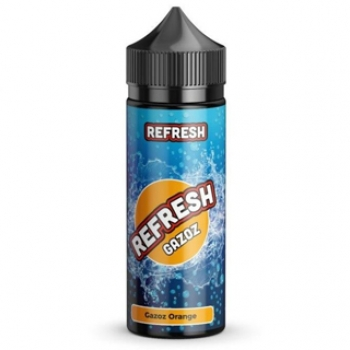 Orange 10ml Refresh Gazoz Aroma + 120ml Chubby Liquidflasche