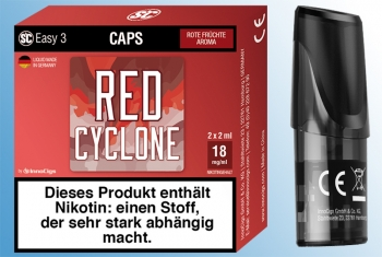 2 x Red Cyclone Rote Früchte - SC Easy 3 Caps
