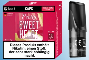 2 x Pretty Sweetheart Sahne-Erdbeere - SC Easy 3 Caps