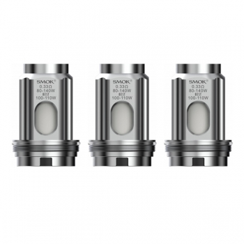 3 x Smok TFV18 Meshed Coil 0,33 Ohm (1 Packung)