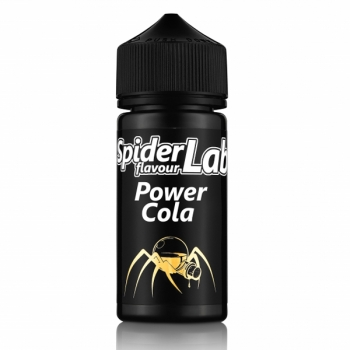 Power Cola Spider Lab 18ml Aroma  + 100ml Chubbyflasche (Energy Drink, Cola)
